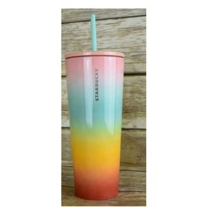 Starbucks Rainbow Pride 24oz Metal Tumbler